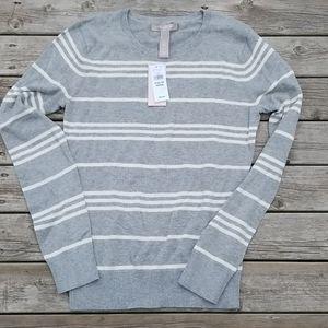 NWT Banana Republic striped crewneck sweater